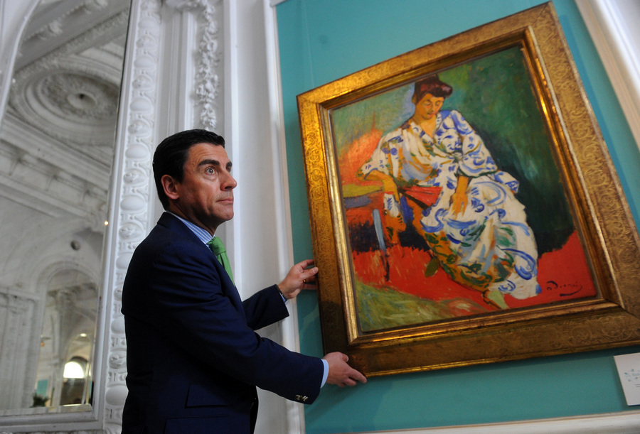 Юбилейная выставка аукционного дома Christie's в Москве (11 фото)
