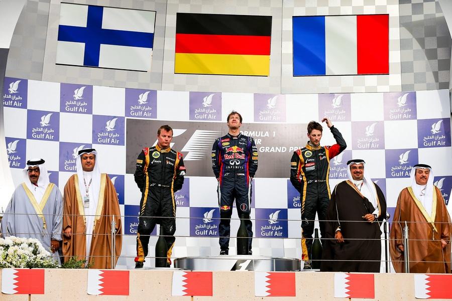 Себастьян Феттель выиграл Гран-при Бахрейна (11 фото)