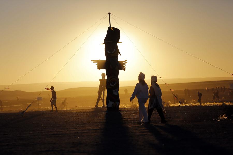 Пламя пустыни: Фестиваль AfrikaBurn 2013 (25 фото)