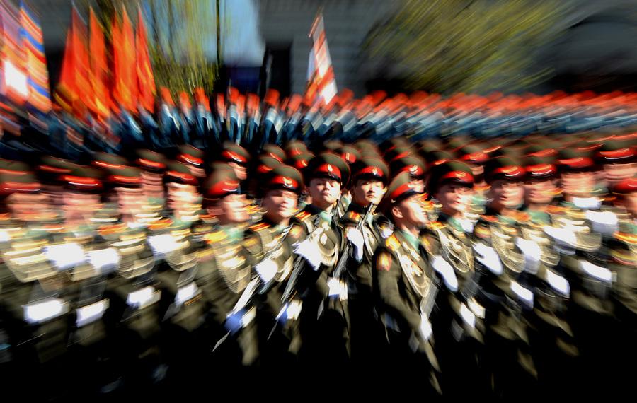Парад Победы на Красной площади (25 фото)
