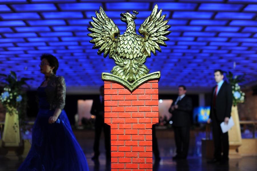 Кремлевский церемониальный бал в Москве (12 фото)