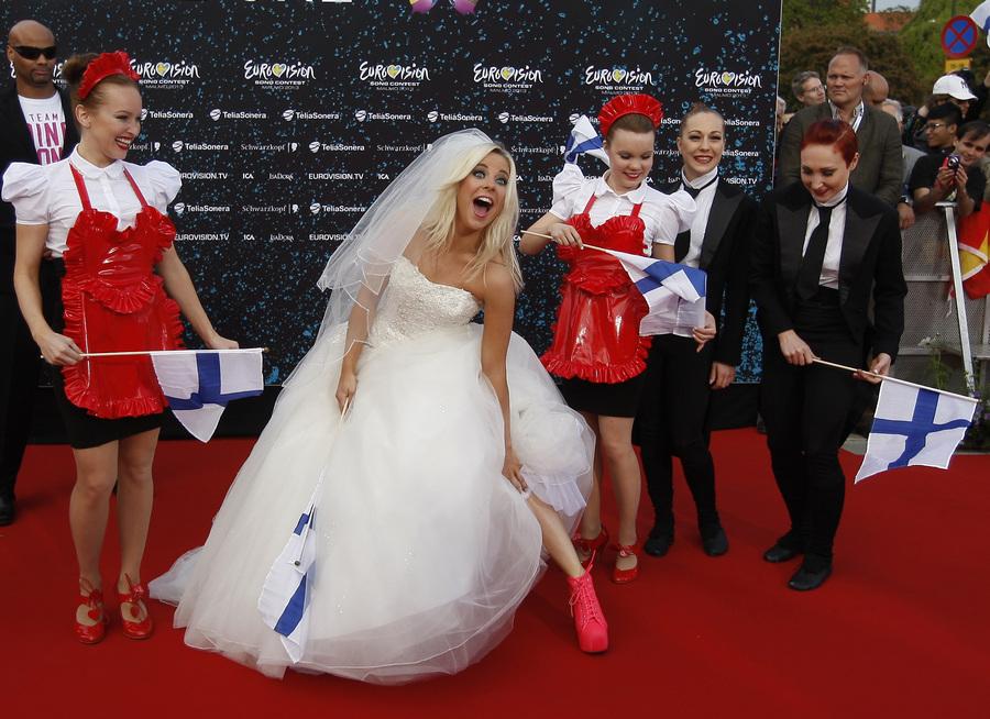 Церемония открытия международного конкурса песни «Евровидение-2013» (35 фото)
