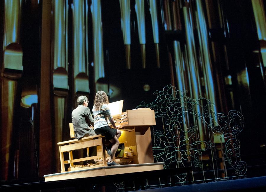 Концерт-презентация нового органа Большого театра (5 фото)