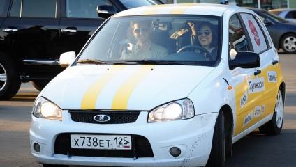 Саша Грей вышла на старт автопробега во Владивостоке (5 фото)
