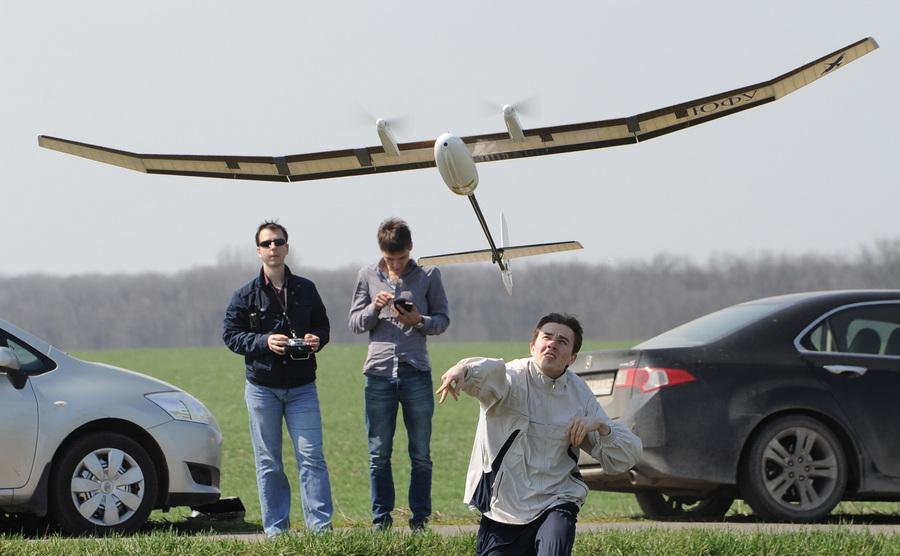 Многоцелевые беспилотные авиационные комплексы Южного федерального университета (13 фото)
