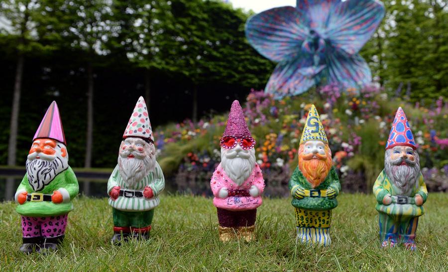 100-летие выставки цветов и ландшафтного дизайна Chelsea Flower Show (11 фото)