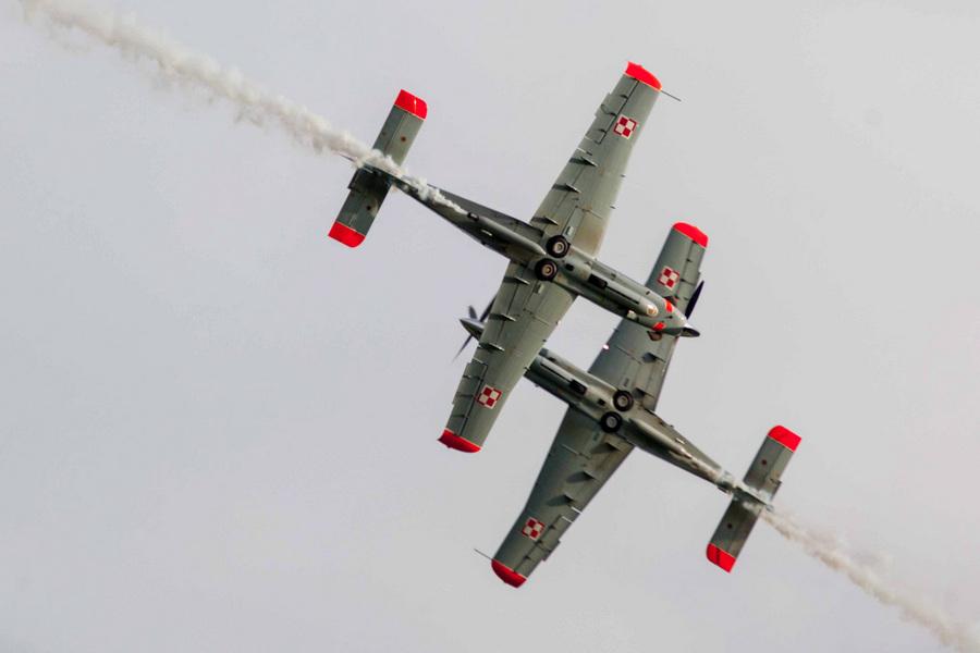 Открытая тренировка пилотажной группы «Орлик» (5 фото)