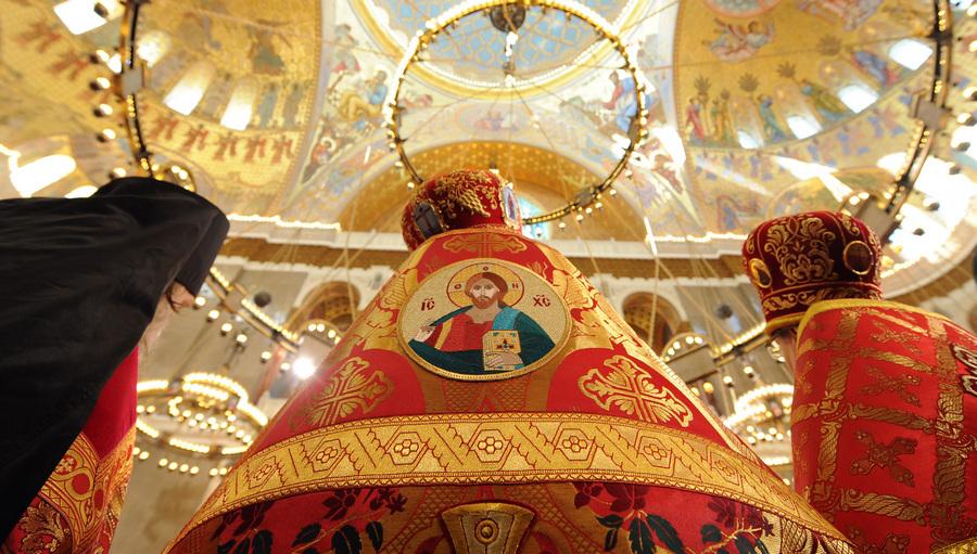 Патриарх Кирилл освятил Никольский морской собор в Кронштадте (14 фото)