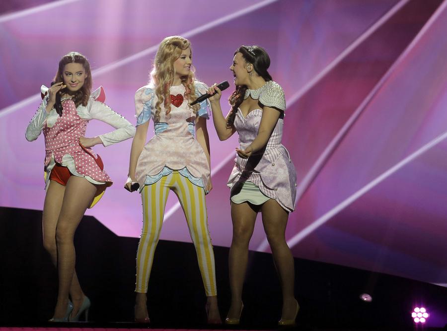 Репетиция первого полуфинала «Евровидения-2013» (14 фото)