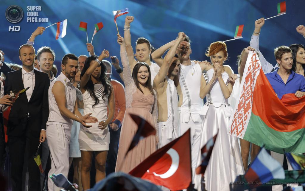 Швеция. Мальме. 14 мая. Участники первого полуфинала 58-го международного конкурса песни «Евровидение-2013». (ИТАР-ТАСС/Кристина Королева)