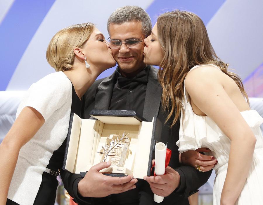Церемония закрытия 66-го Каннского кинофестиваля