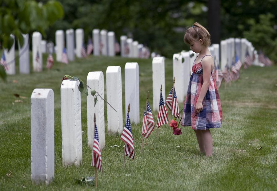 В США отмечают День поминовения