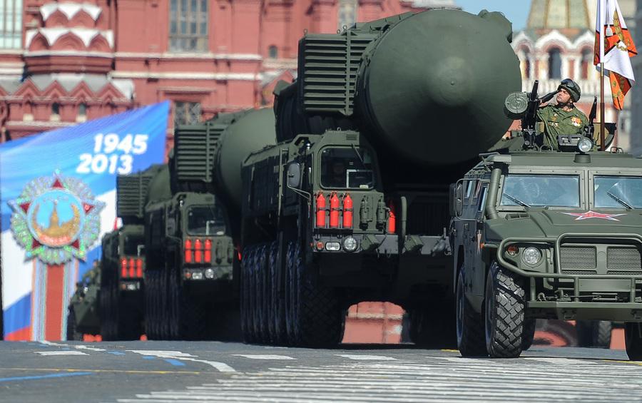 Генеральная репетиция Парада Победы (12 фото)