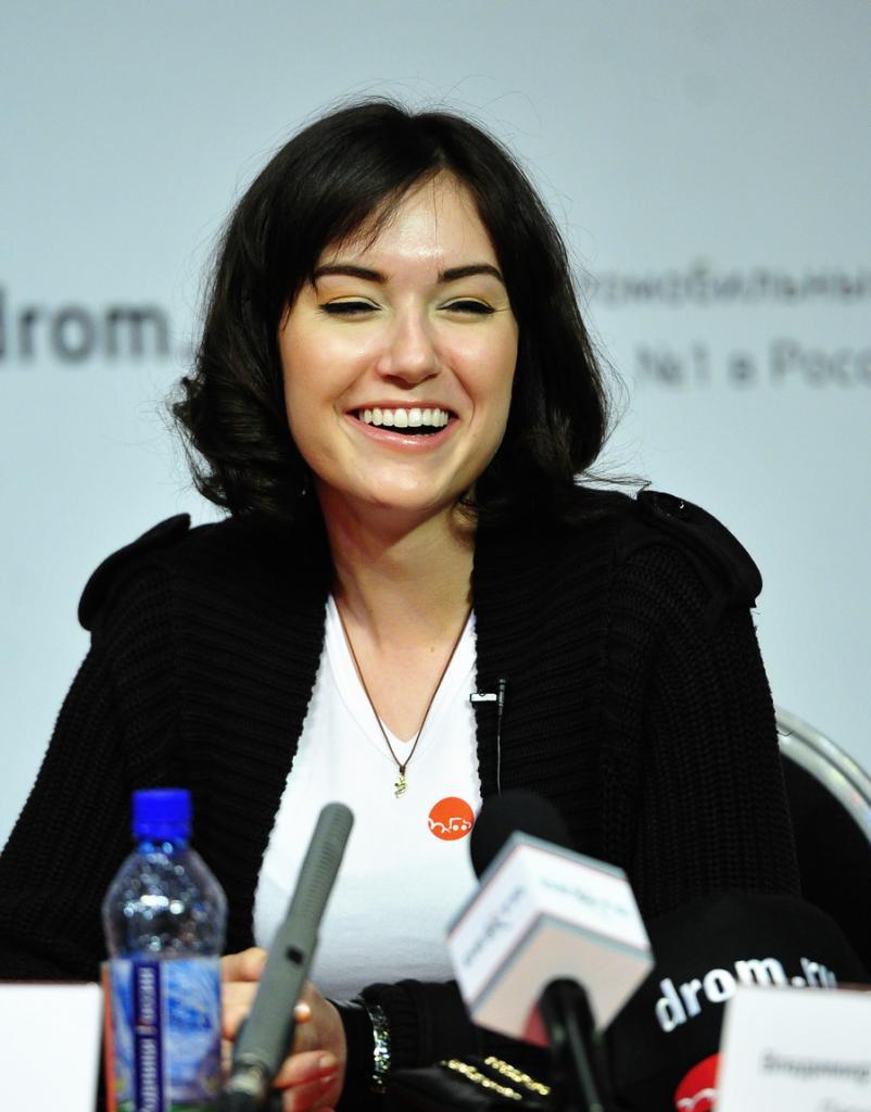 Пресс- конференция американской актрисы Саши Грей во Владивостоке