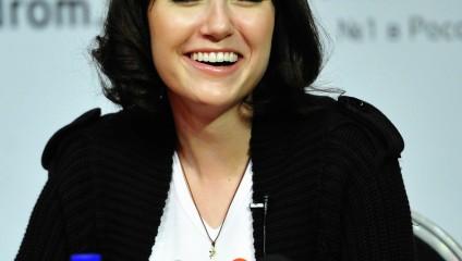 Пресс-конференция американской актрисы Саши Грей во Владивостоке (3 фото)