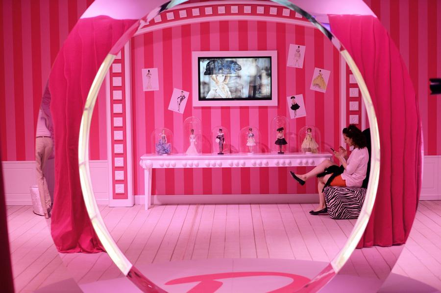 «Дом мечты Барби» в Берлине (5 фото)