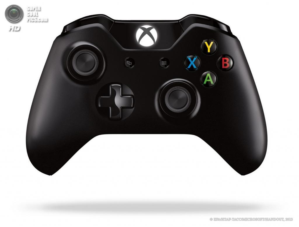 США. Редмонд, Вашингтон. 21 мая. Контроллер игровой консоли Xbox One. (EPA/ИТАР-ТАСС/MICROSOFT/HANDOUT)