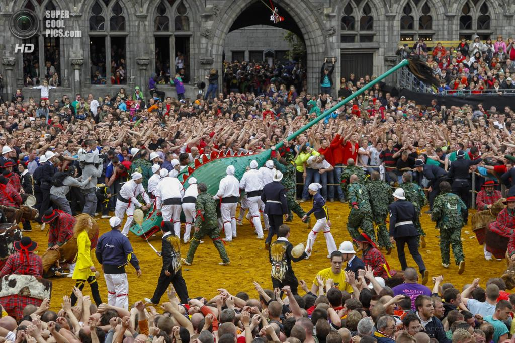 Бельгия. Монс, Эно. 26 мая. На фестивале «Дуду». (EPA/ИТАР-ТАСС/THIERRY ROGE)