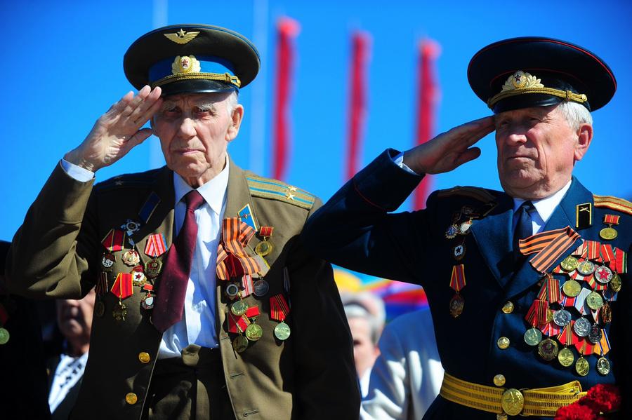 День Победы в городах России