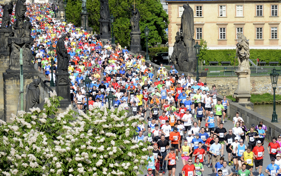 Международный марафон в Праге