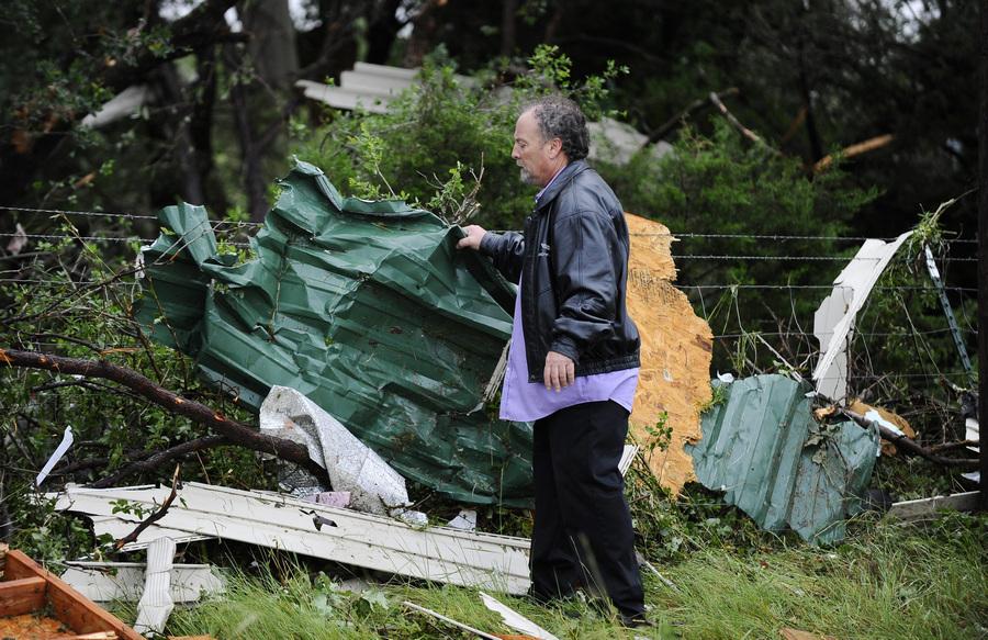 В результате торнадо в штате Техас погибли 6 человек