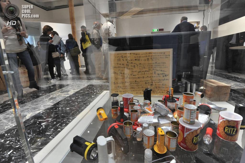 Италия. Венеция. 29 мая. Подготовка к открытию 55-й Венецианской биеннале. (EPA/ИТАР-ТАСС/ANDREA MEROLA)
