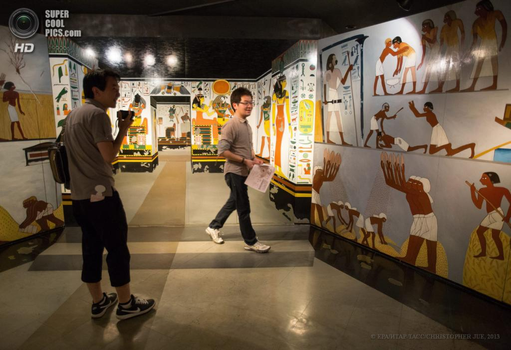 Япония. Хатиодзи, Токио. 17 мая. Общий вид на музей оптических иллюзий Takao Trick Art Museum. (EPA/ИТАР-ТАСС/CHRISTOPHER JUE)