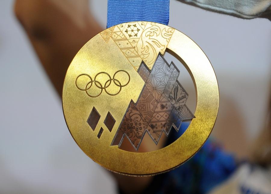 Презентация комплекта медалей Олимпийских и Паралимпийских игр 2014