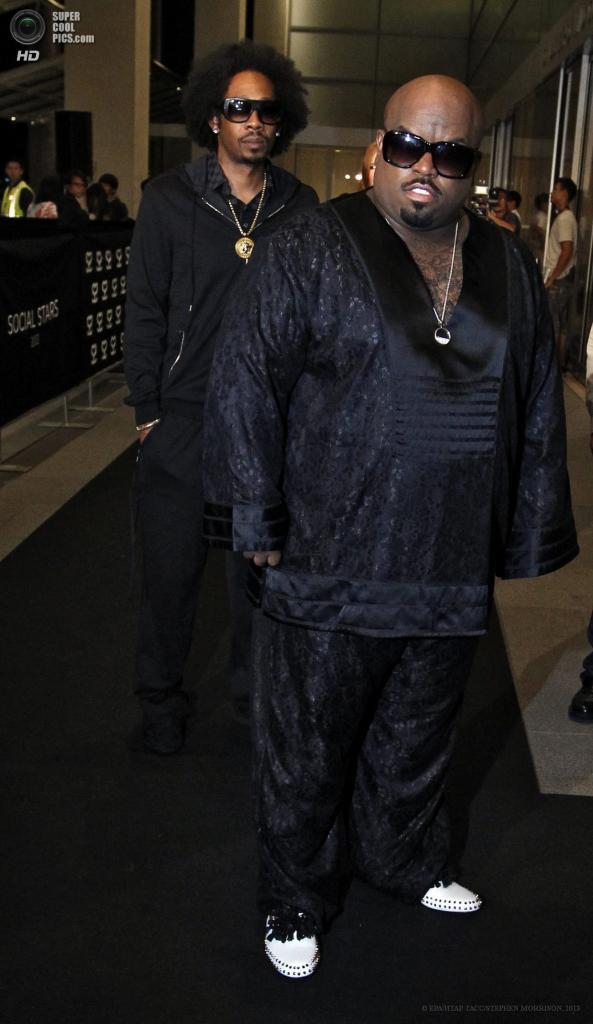 Сингапур. 23 мая. Американский рэпер Си Ло Грин на 5-й церемонии вручения премии Social Star Awards. (EPA/ИТАР-ТАСС/STEPHEN MORRISON)