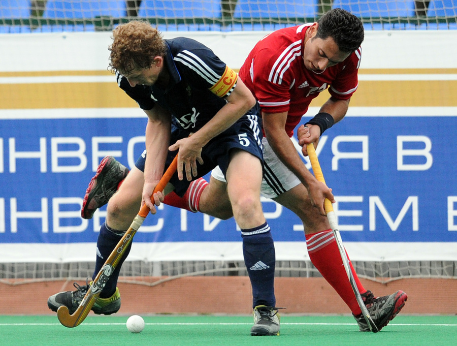 Этап мировой лиги по хоккею на траве: Россия - Египет - 3:0