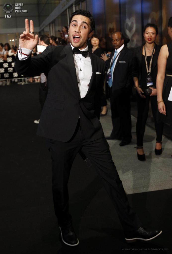 Сингапур. 23 мая. Американский актер Честер Си на 5-й церемонии вручения премии Social Star Awards. (EPA/ИТАР-ТАСС/STEPHEN MORRISON)