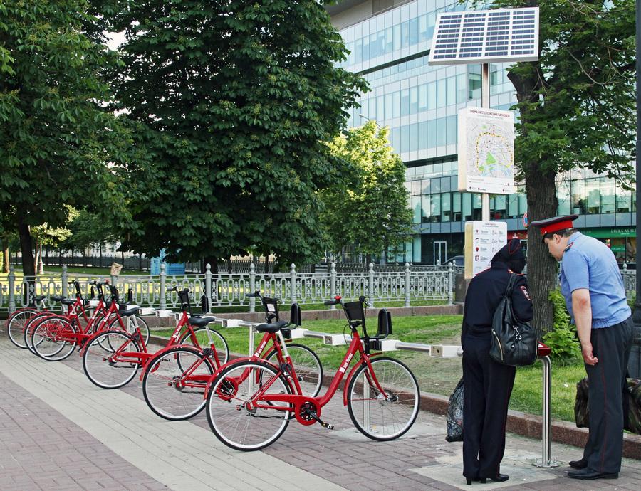 Москва велосипедная: Сезон открыт (11 фото)