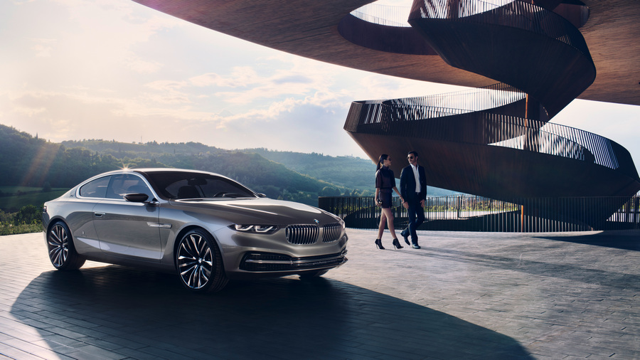 BMW Gran Lusso Coupé. (BMW AG/Pininfarina)