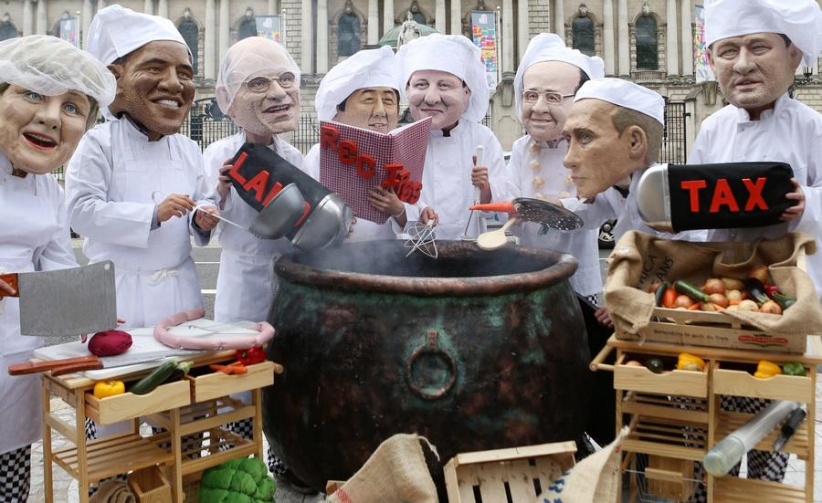 Британцы против саммита «Большой восьмёрки» (20 фото)