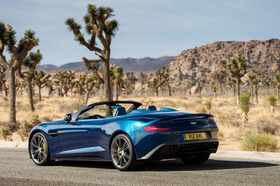 Aston Martin Vanquish стал кабриолетом (20 фото + HD-видео)