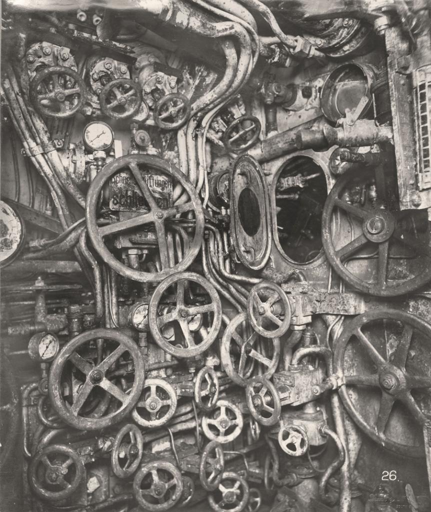 Немецкая подлодка SM UB-110 в деталях (27 фото)