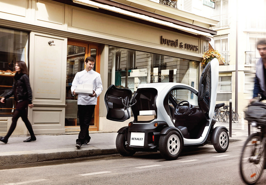 Renault Twizy: Грузовая версия (8 фото)