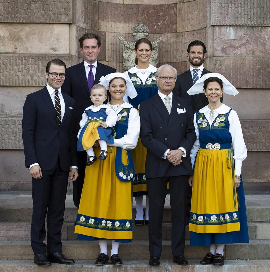 Королевский мальчишник по-шведски (5 фото)