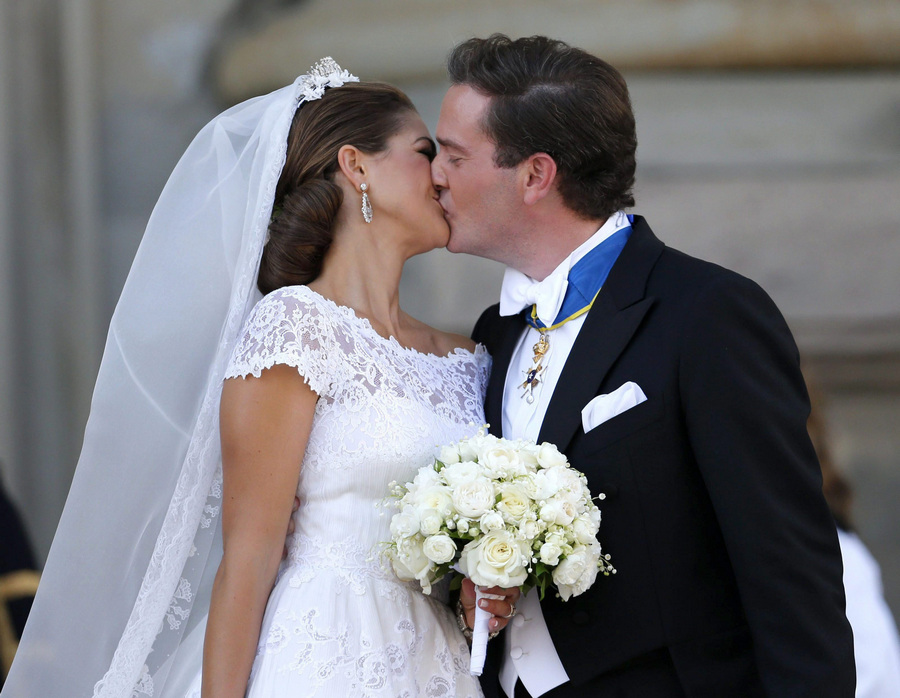 Religious Ceremony - Wedding of Princess Madeleine and Christopher O'Neill