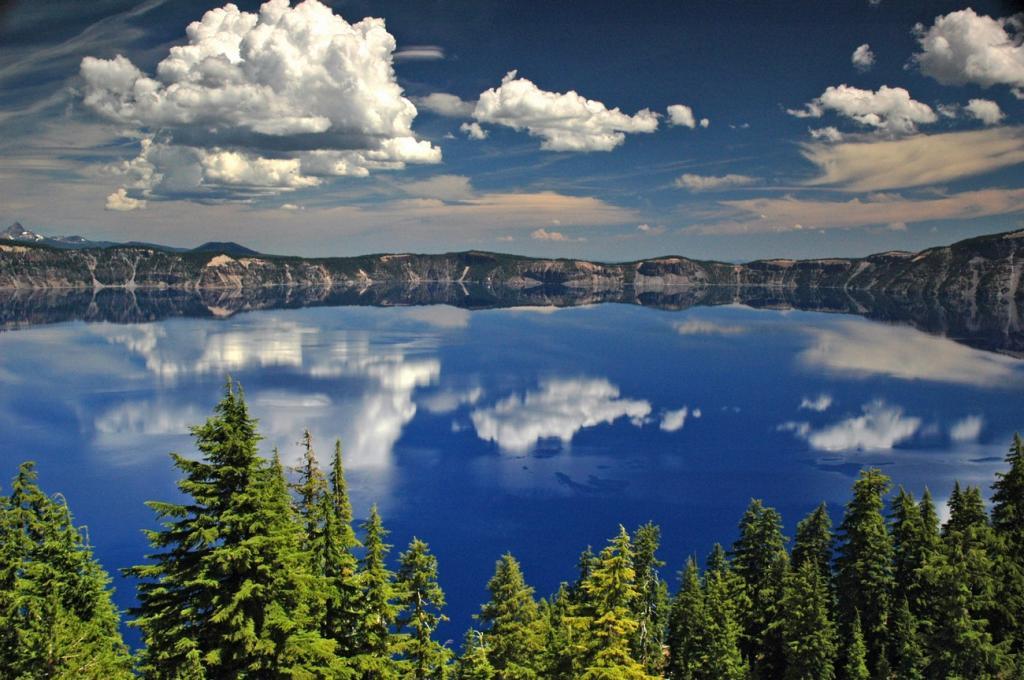 Глубочайшие озёра мира (9 фото)