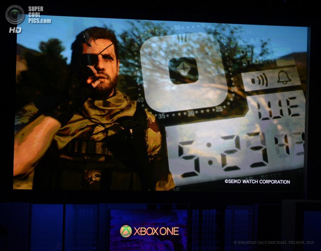 США. Лос-Анджелес, Калифорния. 10 июня. Презентация игры «Metal Gear Solid V: The Phantom Pain» на выставке E3 2013. (EPA/ИТАР-ТАСС/MICHAEL NELSON)