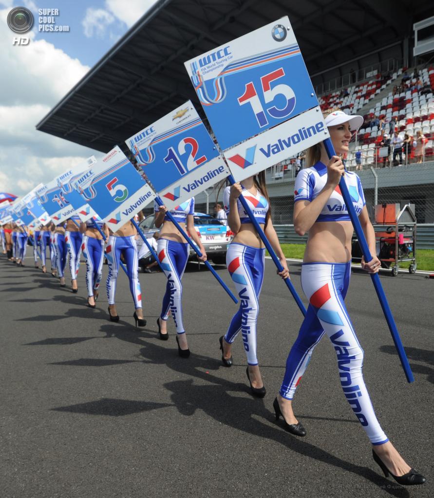 Первый в истории российский этап гоночной серии WTCC (10 фото + HD-видео)