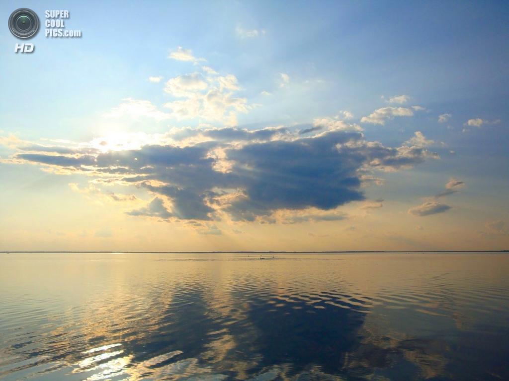 Россия,  Казахстан,  Туркмения,  Иран,  Азербайджан. Каспийское море. Наибольшая глубина — 1 025 м. (Дмитрий Власов)
