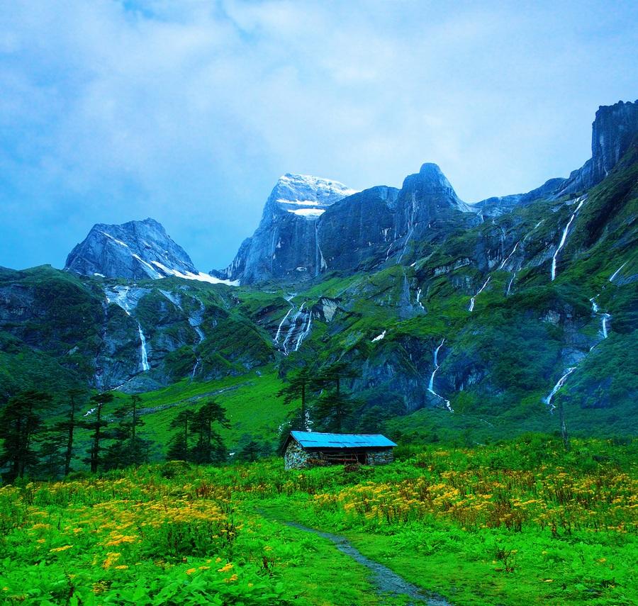 Высочайшие вершины мира (5 фото)