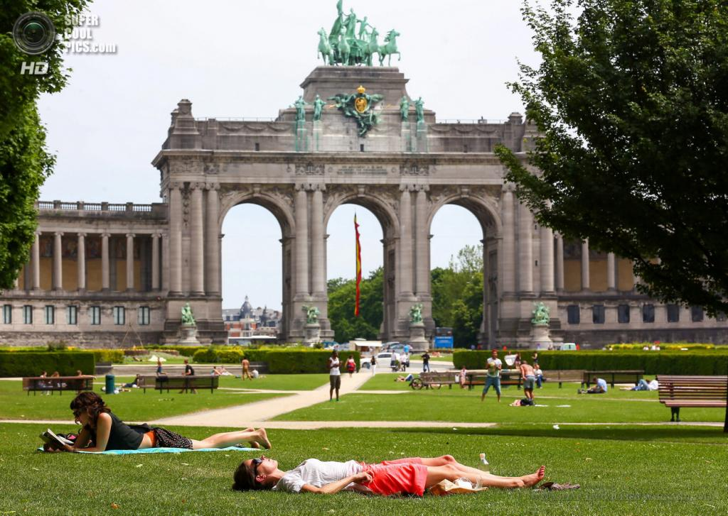 Бельгия. Брюссель.18 июня. (EPA/ИТАР-ТАСС/JULIEN WARNAND)