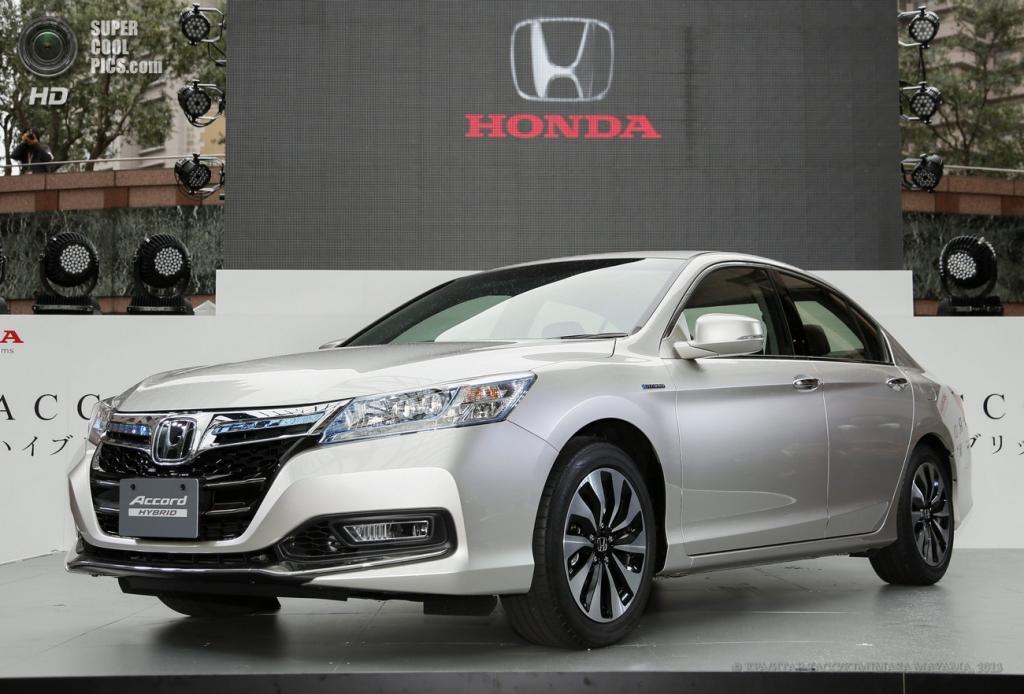 Гибридный Honda Accord пошёл на конвейер (10 фото)