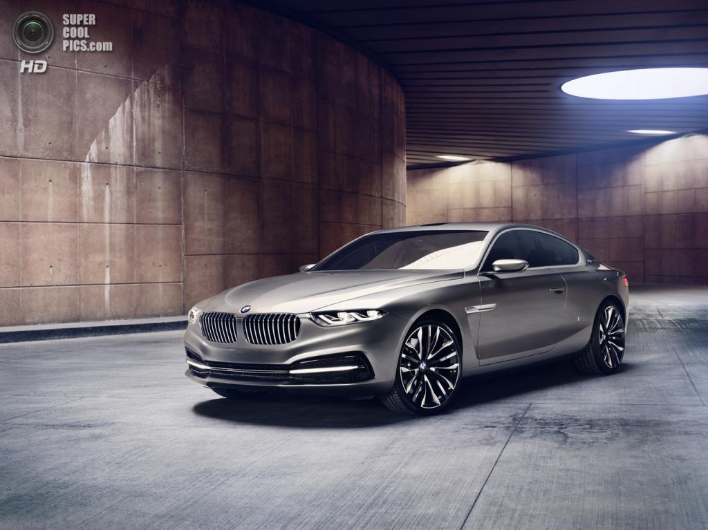 BMW Pininfarina Gran Lusso Coupé. (BMW AG/Pininfarina)