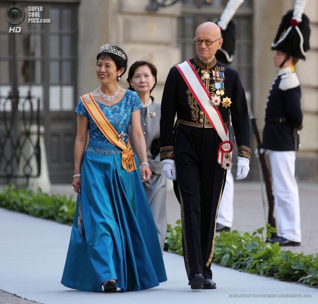 Швеция. Стокгольм. 8 июня. Принцесса Японии Такамадо. (EPA/ИТАР-ТАСС/SOREN ANDERSSON)