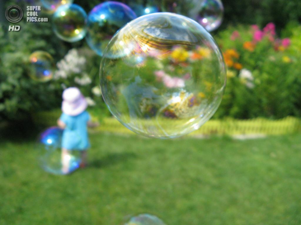 Мыльные пузыри. (April9450)