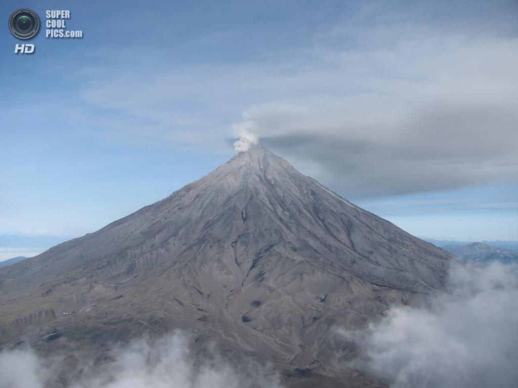 Корякская сопка. Последнее извержение — 2009 год. (Gistereziz)
